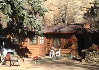 Redemption Cabin is a vacation rental in Estes Park Co. Here is an image.