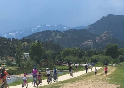 Lake Estes Bike Path