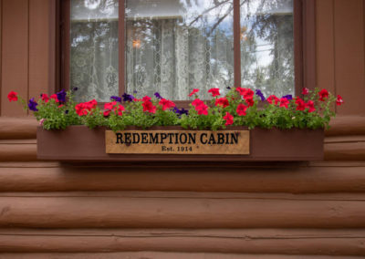 Redemption Cabin Front