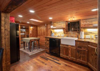 Kitchen into Coffee Bar