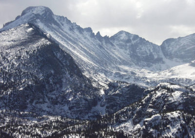 Longs Peak Winter