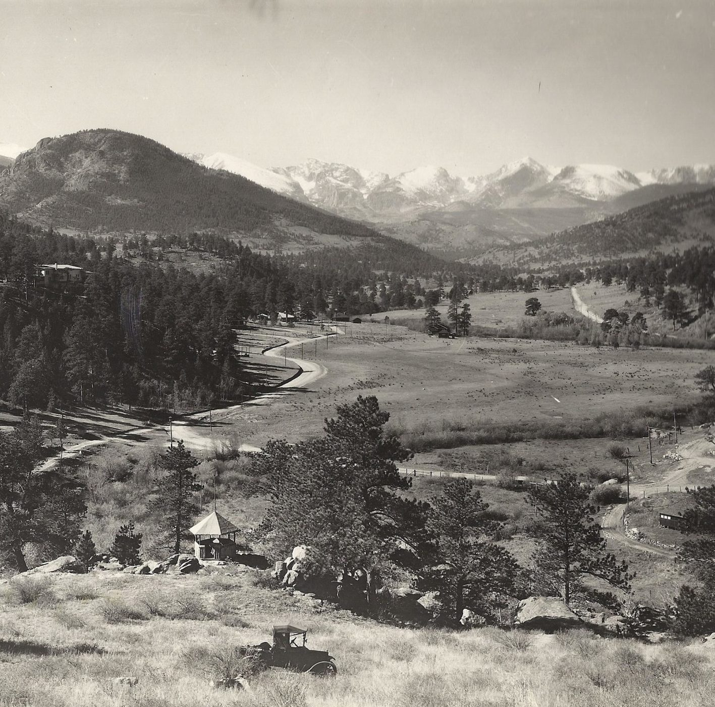 Image of Redemption Cabin area around 1914.